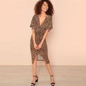 Dresses & Skirts - Price ⬇️ Trendy Leopard Twist Front Dress